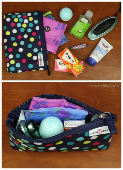 Send your daughter back to school with a Confidence Pack that includes U by Kotex Pads, EOS Lip Balm and more. Help her be prepared for what life throws at her, including her period. #CycleSurvival #CollectiveBias #ad