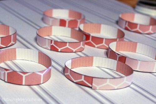 loops of paper