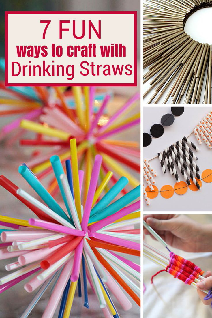 7 fun ways to craft with drinking straws the crafty blog for Fun things to craft