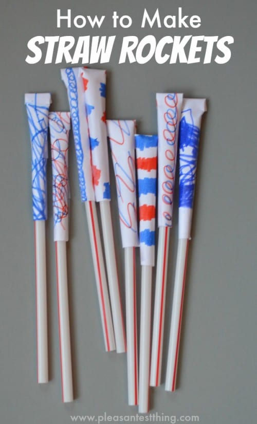 7 Fun Ways to Craft with Drinking Straws featured by top US craft blog, The Crafty Blog Stalker.