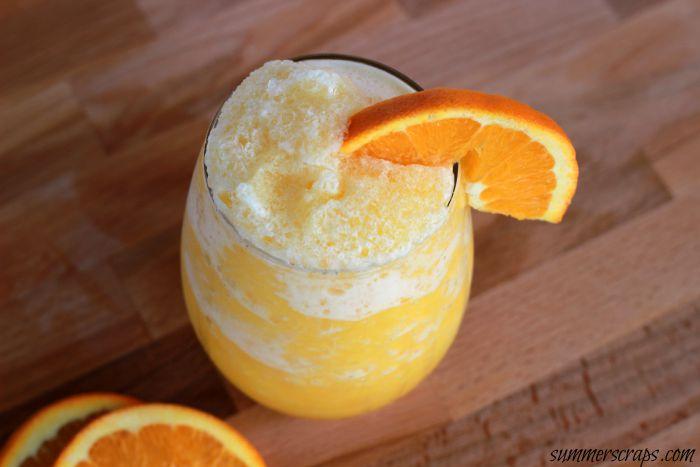 Orange Juice Slushi