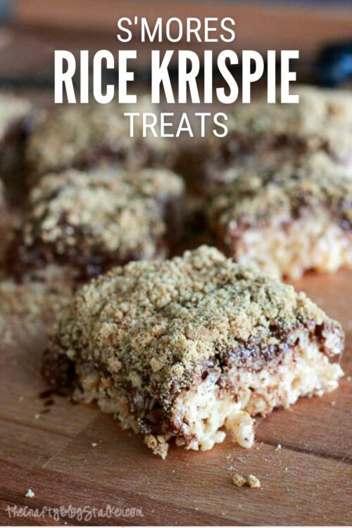tittle image for How to Make S'mores Rice Krispies Recipe