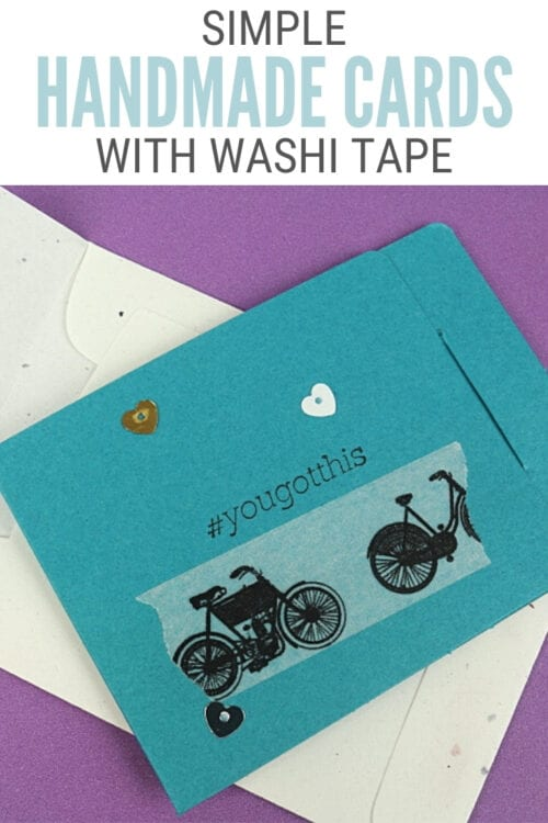 title image for How to Make Simple Handmade Cards with Washi Tape