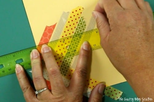 How to Make a Handmade Thank You Card with Washi Tape, a tutorial featured by top US craft blog, The Crafty Blog Stalker