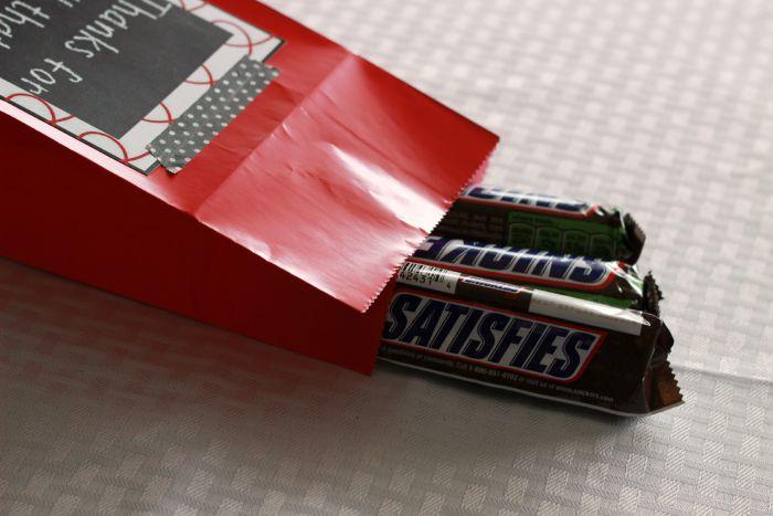 Teacher Appreciation Treat Bags Snickers,ggnoads