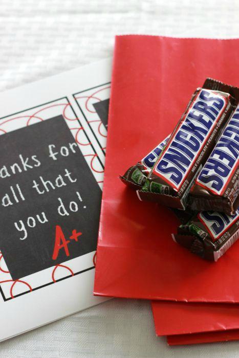 Teacher Appreciation Treat Bags Supplies.ggnoads