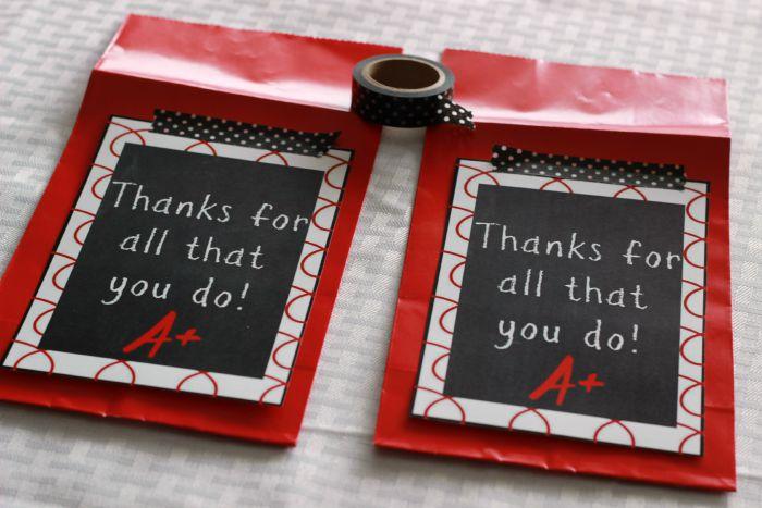 Teacher Appreciation Treat Bags attach printable.ggnoads
