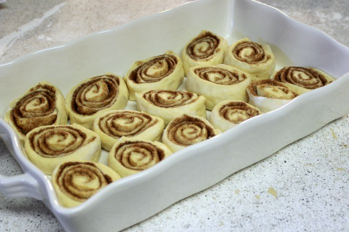 rolls unbaked