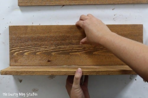 How to Make a Wood Planter Box Centerpiece, a tutorial featured by top US craft blog, The Crafty Blog Stalker: assembly