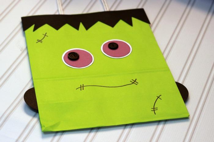 Frankenstein Bag from summerscraps.com