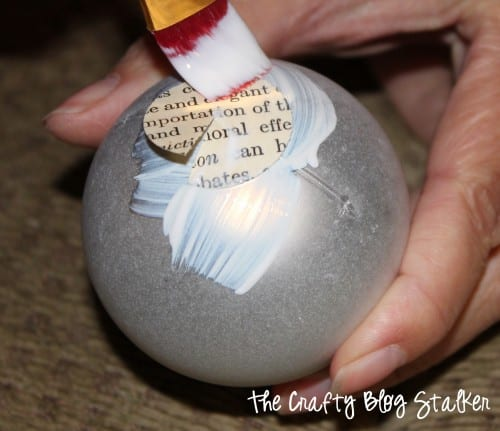 Start a Christmas Family Tradition of a Handmade Ornament Exchange. An easy DIY craft tutorial idea for keepsake Christmas Ornaments.