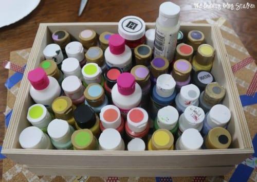Painted Pin Board | Cork Board | Kids Craft | Washi Tape | DIY