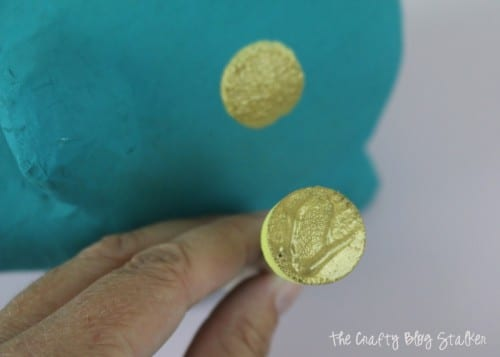 How to Make a Painted Polka Dot Piggy Bank | Easy DIY Craft Tutorial Idea | Penny Bank | Kids Craft | Paint | Design | Saving Money