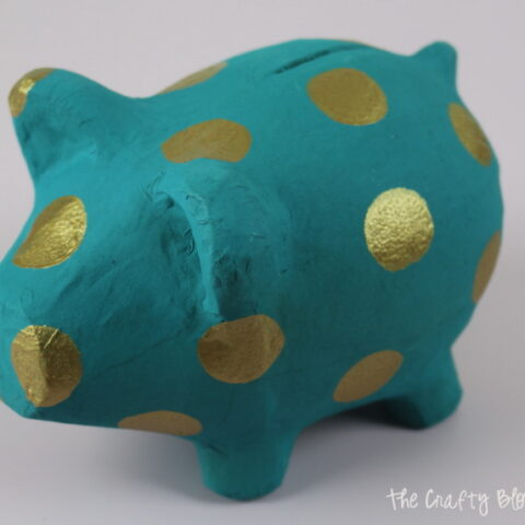 How To Paint A Piggy Bank
