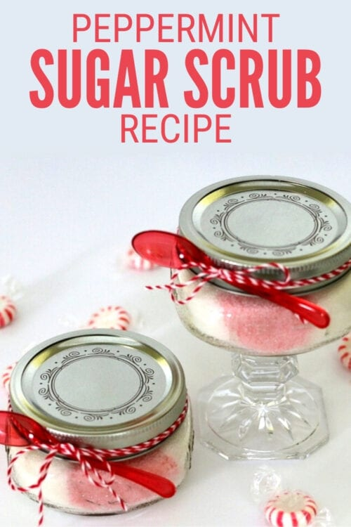 title image for How to Make Peppermint Sugar Scrub