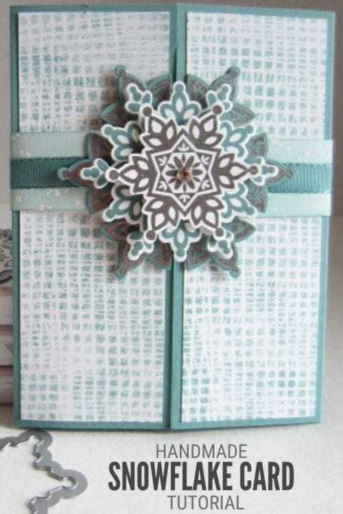 title image for How to Make DIY Snowflake Cards
