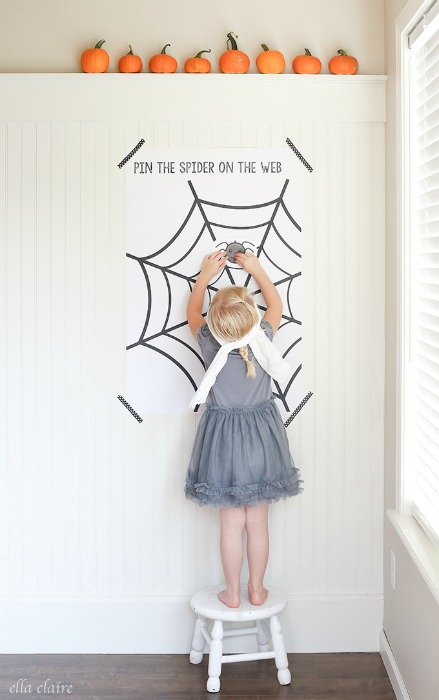 Spider Web Printable