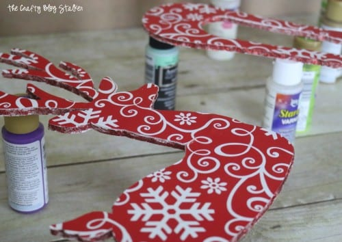 How to Make a 3D Reindeer Christmas Decoration | Easy DIY Craft Tutorial Idea | Cricut Explore | Foam Board | Handmade | Christmas Decoration | Holiday | Wrapping Paper | Template