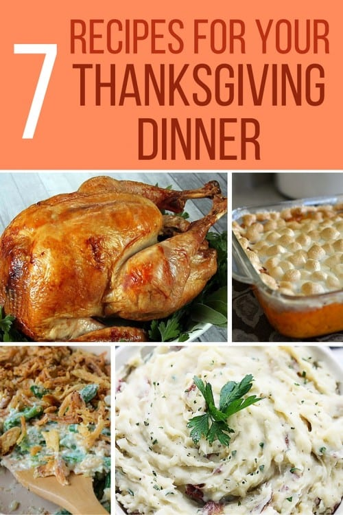 7 Recipes for Thanksgiving Dinner | Easy DIY Recipe Tutorial Idea | Hosting | Host | Dish to Bring | Friendsgiving