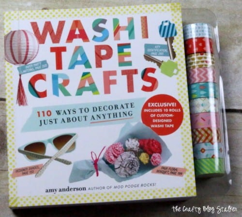 How to Make a Washi Tape Cell Phone Cover, a tutorial featured by top US craft blog, The Crafty Blog Stalker.