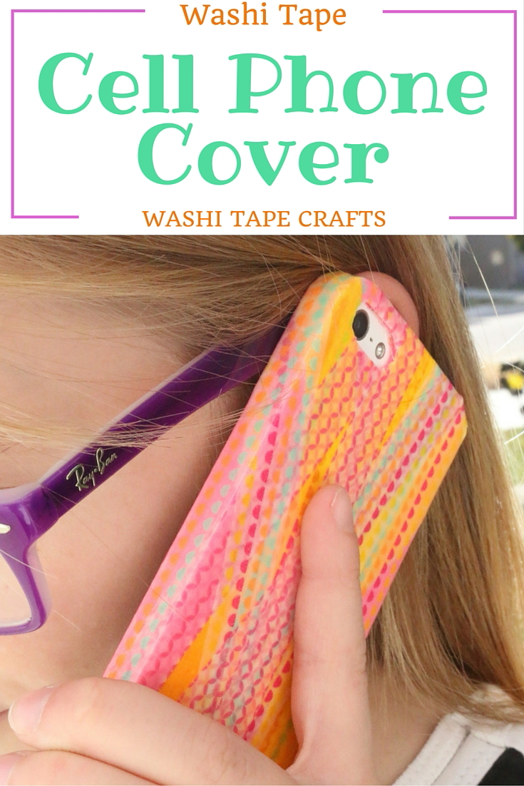 Washi tape cell phone cover 9 the crafty blog stalker for Washi tape phone case