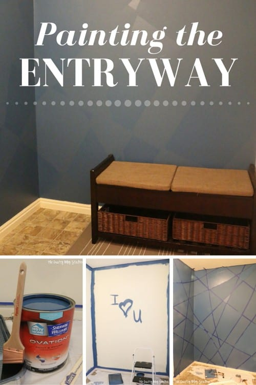 Painting Entryway painting the entryway - the crafty blog stalker