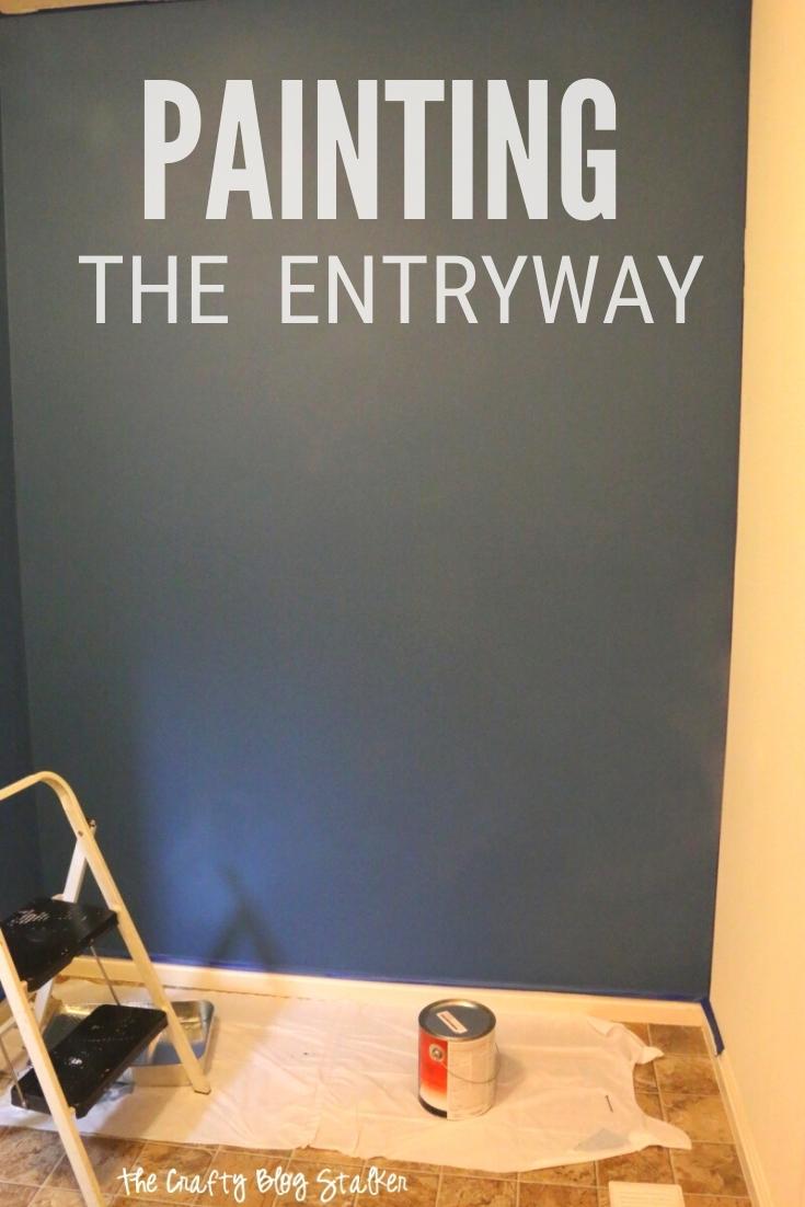 den Eingang streichen 14