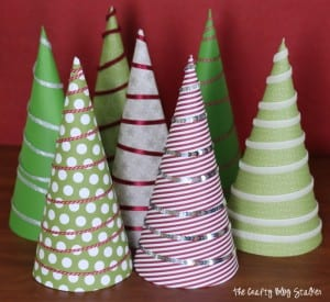 How to Make Christmas Tree Wrapped Cookies