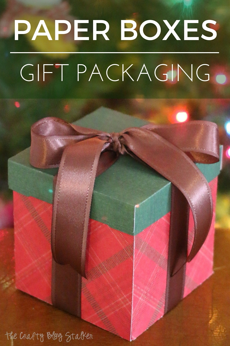 Paper box handmade gift packaging is great for all of your gift