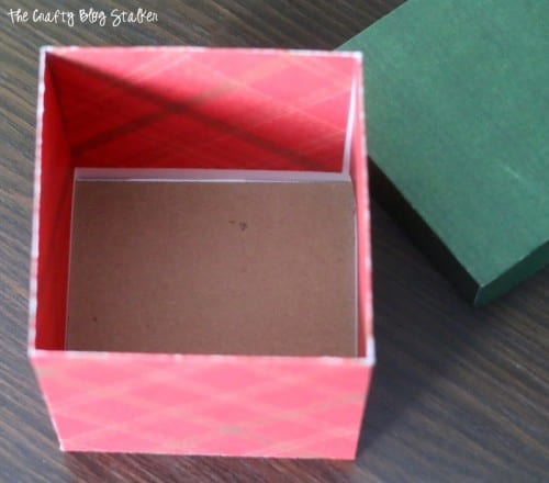 Wrap your Christmas Present in a beautiful paper box made with a Cricut. Easy DIY craft tutorial idea for handmade gift packaging.