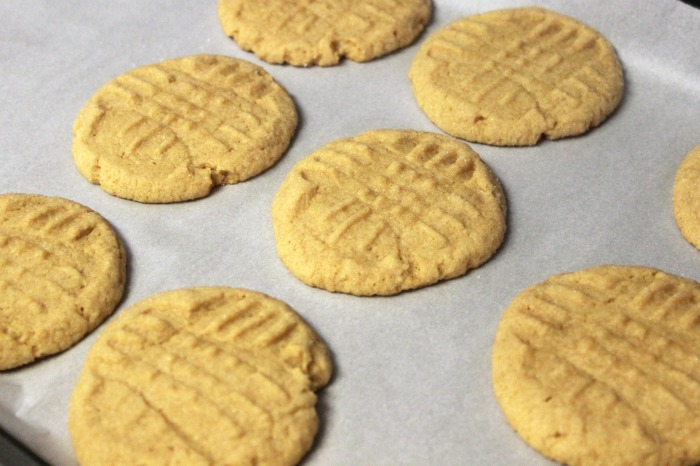 Peanut Butter Cookies cooked