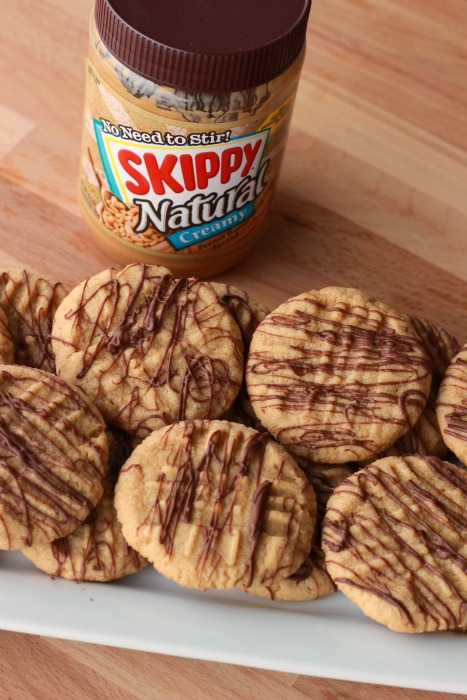 Peanut Butter Cookies with Skippy Peanut Butter