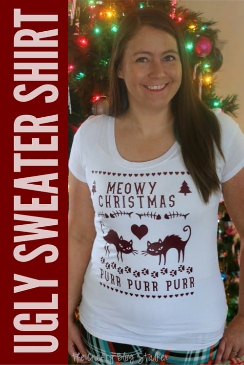 How To Make An Ugly Christmas Sweater Shirt The Crafty Blog Stalker