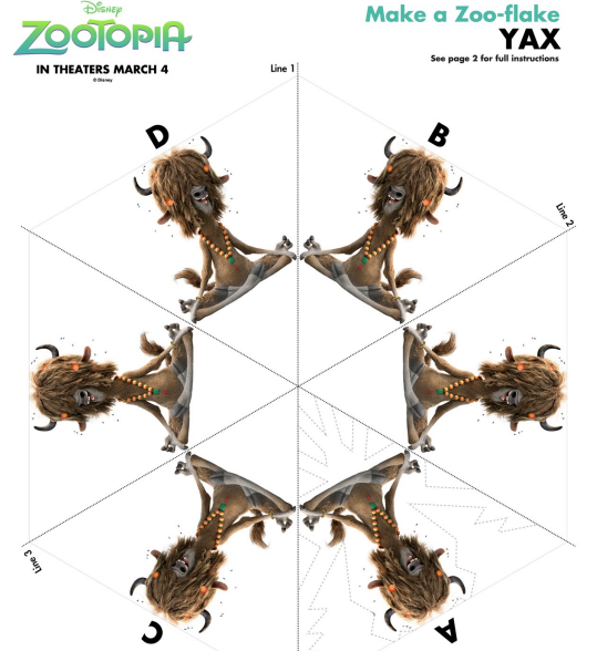 Yax Zooflake