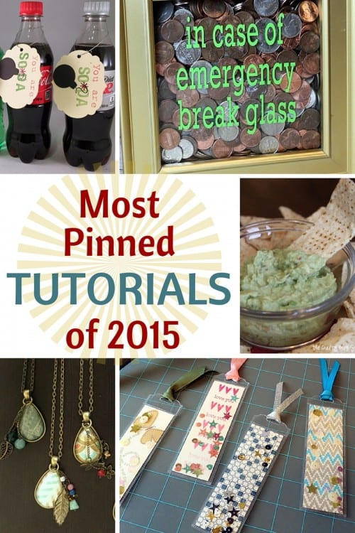 Top 10 Tutorials of 2015 | The Crafty Blog Stalker | Easy DIY Craft Tutorial Idea | Most Pinned