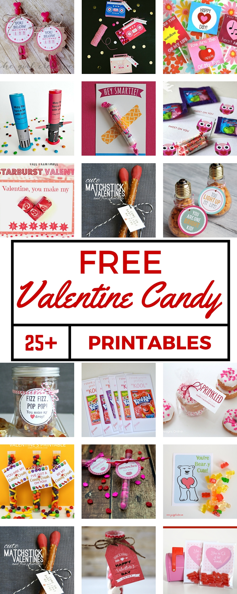 25 free valentine candy printables the crafty blog stalker
