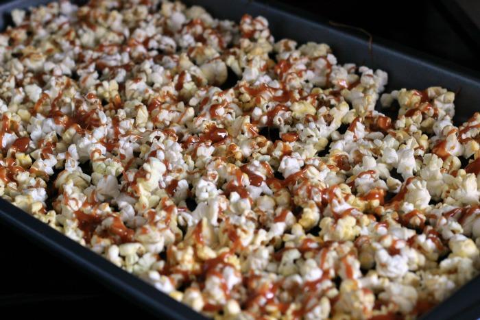 Caramel on Popcorn
