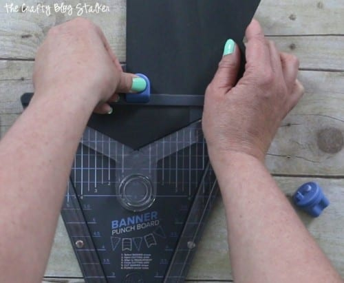 How to Make a Chalkboard Banner, a tutorial featured by top US craft blog, The Crafty Blog Stalker.