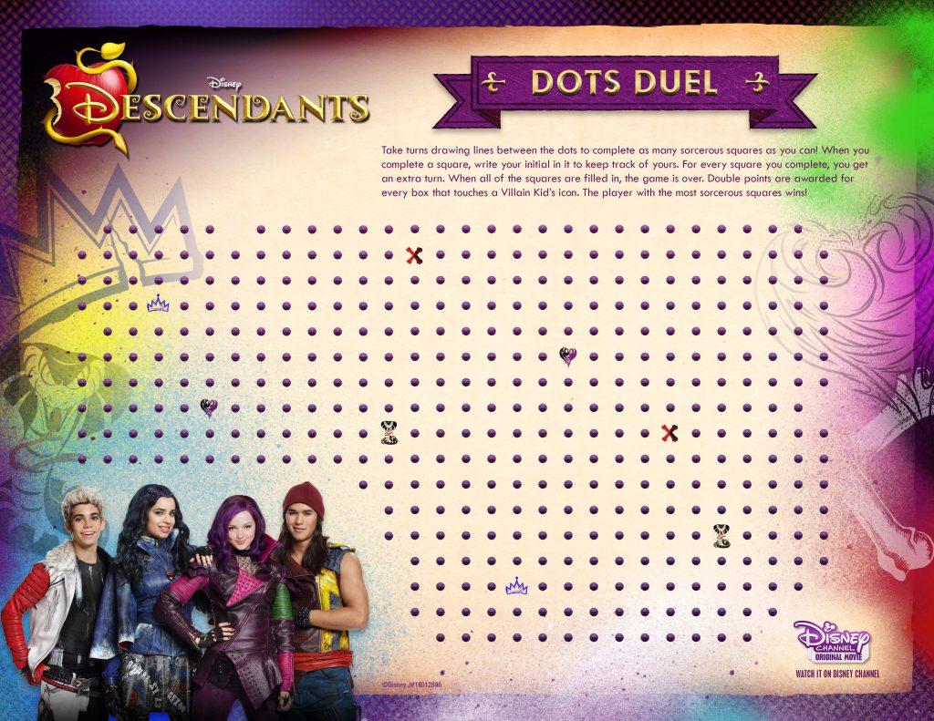 Disney Descendants Dots Duel