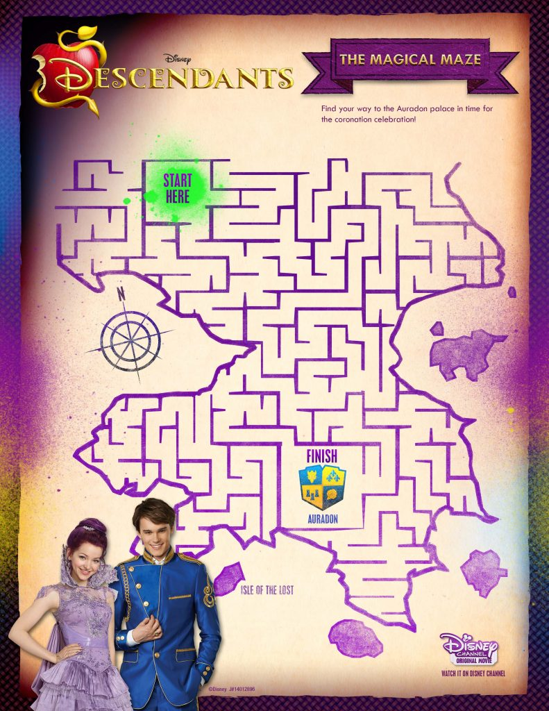 Disney Descendants Magical Maze