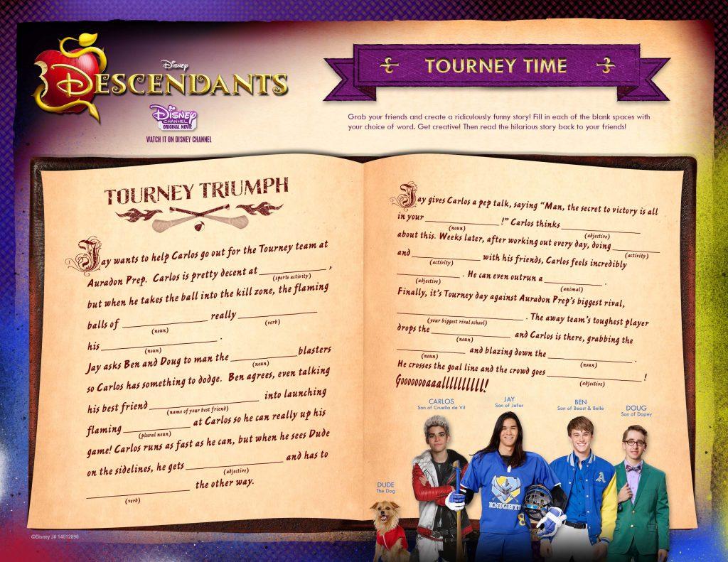 Disney Descendants Tourney Time