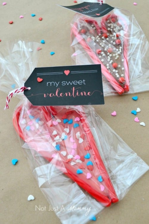 Valentine Printables to be given with Candy | Valentine's Day | Kids Craft | Class Party | Handmade | Easy DIY Craft Tutorial Idea
