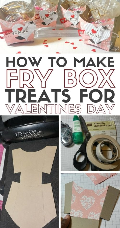 How to Make Fry Box Treats for Valentines Day | Paper Crafts | Handmade Gift | Easy DIY Craft Tutorial Idea
