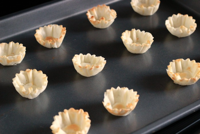 Baked Fillo Cups
