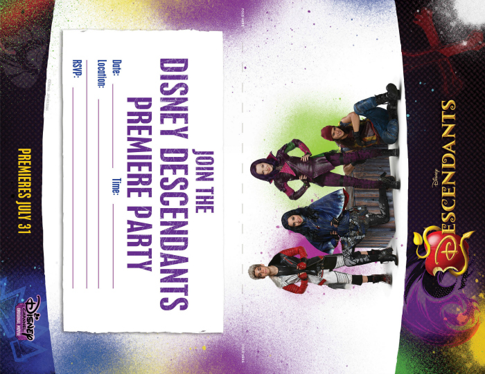 Disney-Descendants-free-party-printables-invitation