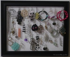 How to Make an Earring Holder Frame