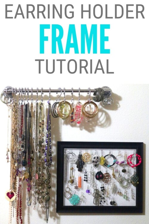title image for How to Make Your Own Earring Holder Frame