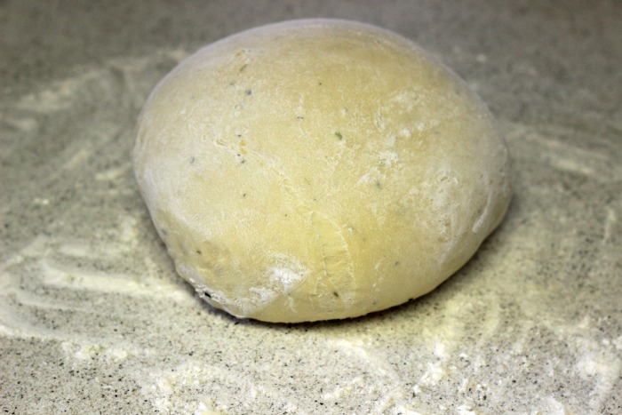 Garlic Parmesan Breadsticks - dough