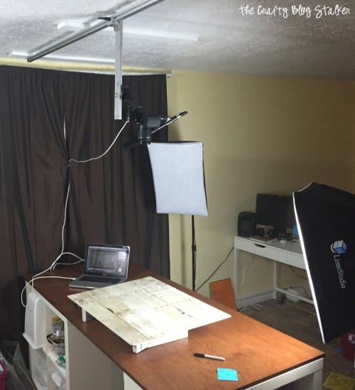 video studio set up