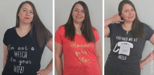 How to Design Trendy T-Shirts with Cricut, a tutorial featured by top US craft blog, The Crafty Blog Stalker.